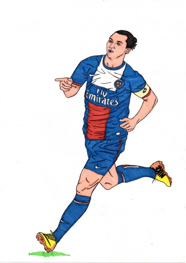 Zlatan Ibrahimovic by theimperador10